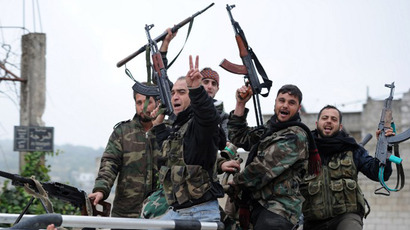 21 UN peacekeepers taken hostage by Syrian rebels in Golan Heights