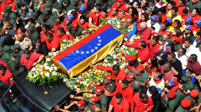 Venezuelans and world leaders bid farewell to Hugo Chavez (PHOTOS)