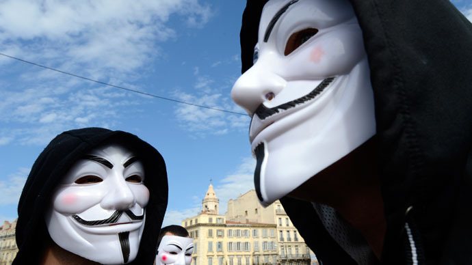 Anonymous 'spokesperson' to spend year in jail without trial