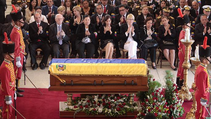Venezuelans and world leaders bid farewell to Hugo Chavez (PHOTOS)