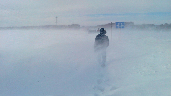 Out in the cold: People suffocate in cars, freeze to death in snow hit Siberia