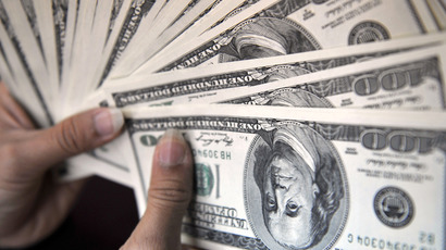 US firms parked $166 bln overseas last year