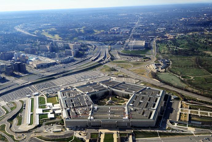 Pentagon building in Washington, DC (AFP Photo)