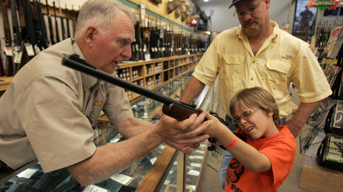 Gun ownership in US on decline