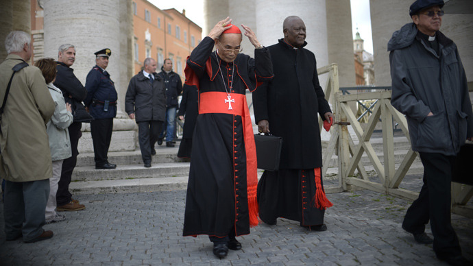 Latin oaths and 007 gadgets in Vatican lockdown for pope vote