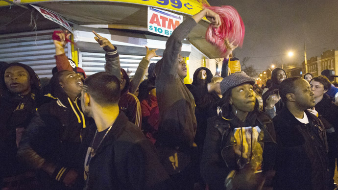 Hundreds rally in Brooklyn for second night of police brutality protest