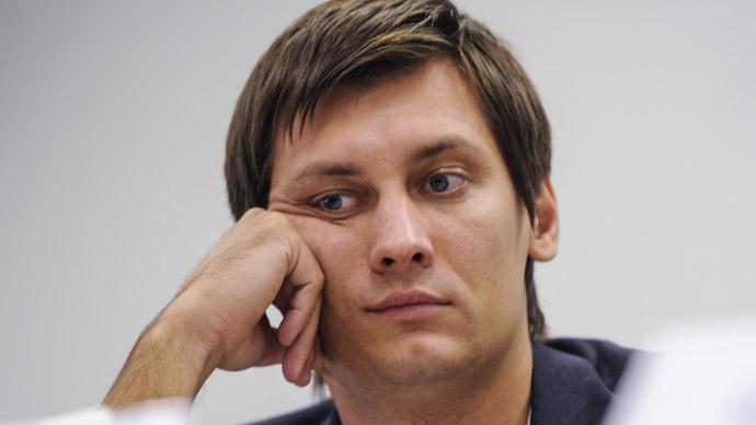 State Duma deputy Dmitry Gudkov (RIA Novosti/Vladimir Astapkovich)