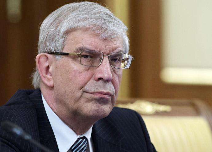 President of the Russian Central Bank Sergey Ignatyev (RIA Novosti/Sergey Guneev)