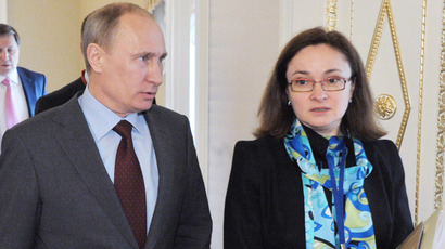 Nabiullina takes over Russia's Central Bank's top post