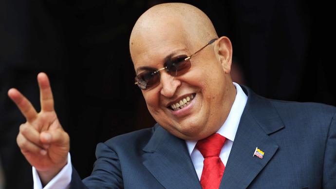 Late Venezuelan President Hugo Chavez (AFP Photo / Juan Baretto)