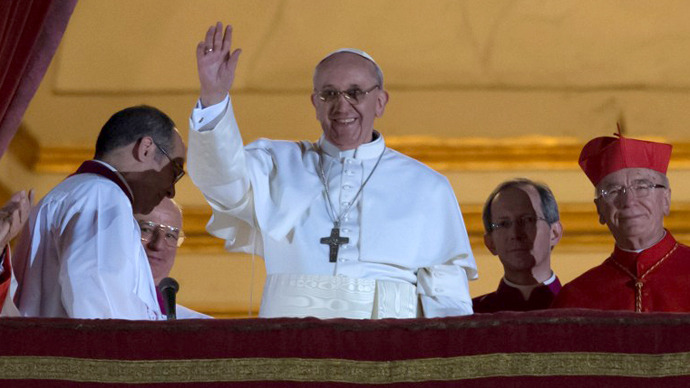 Argentine Jorge Mario Bergoglio named Pope Francis
