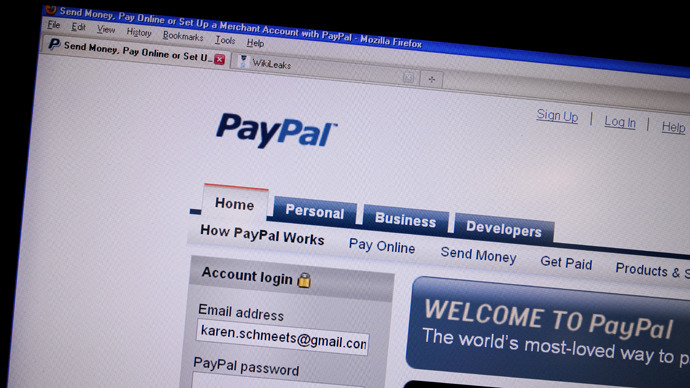 PayPal to get stronger Russian stand