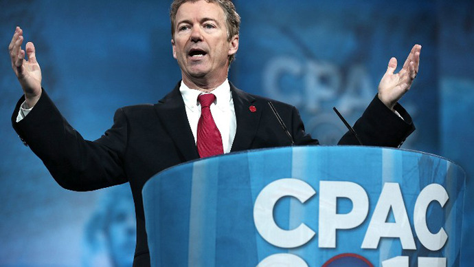 Rand Paul lashes out at Obama over NDAA at conservative conference
