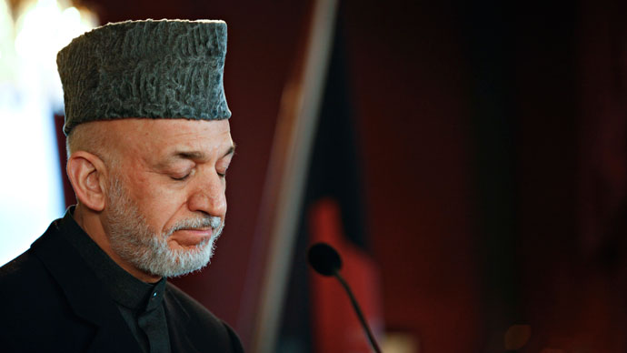 President of Afghanistan Hamid Karzai.(AFP Photo / Anette Karlsen)