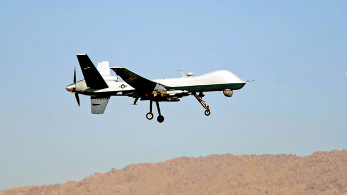 'Drones fly, children die': US activists launch massive anti-drone campaign