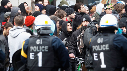 Over 270 detained in Montreal over freedom of assembly rally