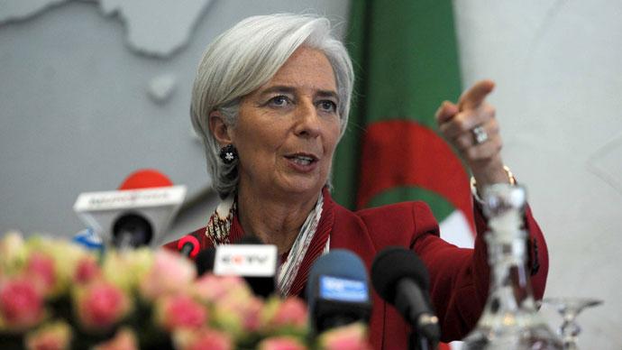 International Monetary Fund (IMF) chief Christine Lagarde.(AFP Photo / Farouk Batiche)