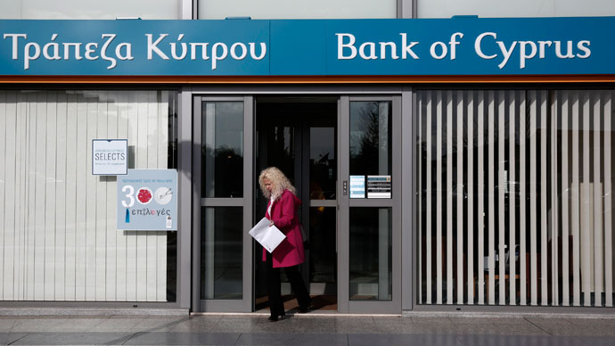 Stop, thief! Run on ATMs in Cyprus as govt mulls savings tax