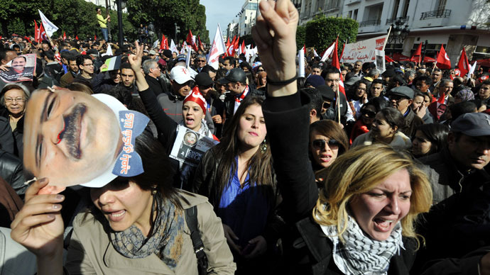 Tunisia's biggest protest since Arab Spring (PHOTOS)