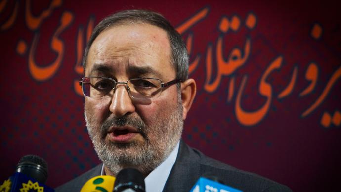 Spokesman for Iran's Joint Armed Forces Staff Masoud Jazayeri (Reuters / Raheb Homavandi)