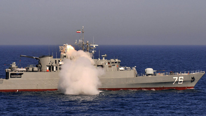 Iran launches destroyer in the Caspian Sea