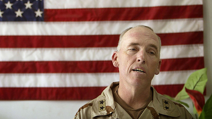 US Major General Geoffrey D. Miller. (AFP Photo / Damir Sagolj)