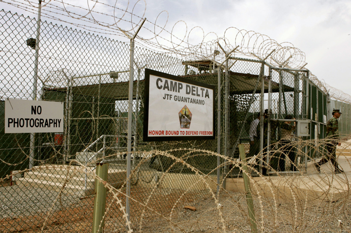 Camp Delta at Guantanamo Naval Base (AFP Photo / Mark Wilson)