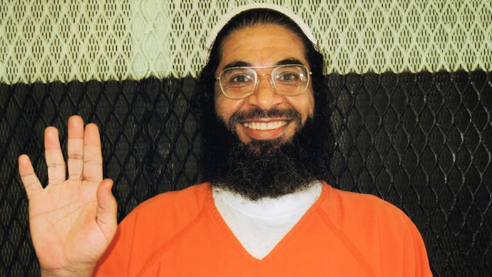 Shaker Aamer (Image from andyworthington.co.uk)