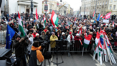 Hungary re-elects ruling party in parliamentary vote, far-right gains support