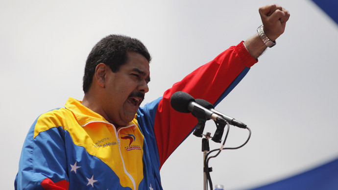 Chavez's successor asks US not to frame him with rival's murder