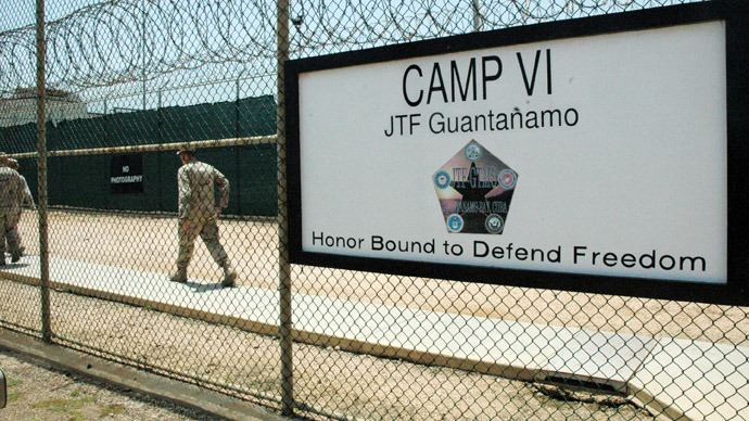 Gitmo press agent denies abuses amid ongoing hunger strike