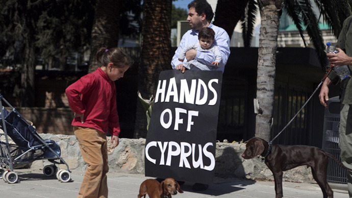 Cyprus asked to reduce burden on smaller savers in bank levy