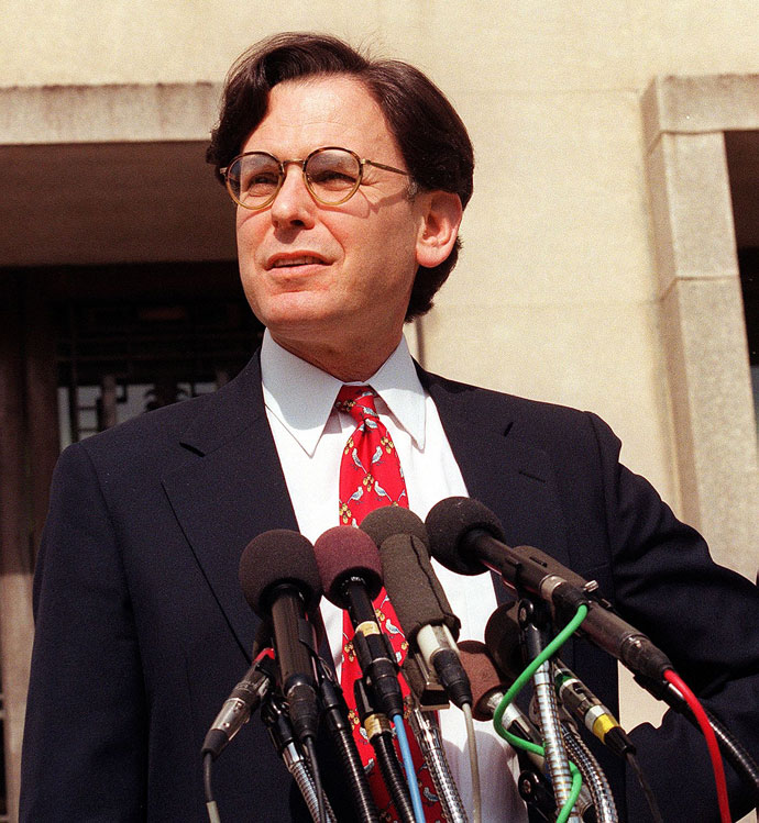 Sidney Blumenthal.(AFP Photo / Tim Sloan)