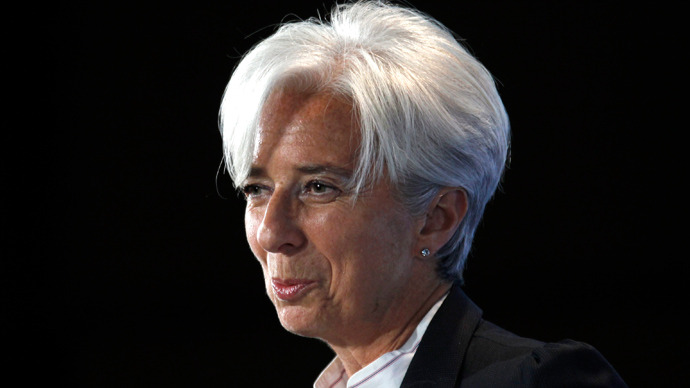 Christine Lagarde  (Reuters / Charles Platiau)