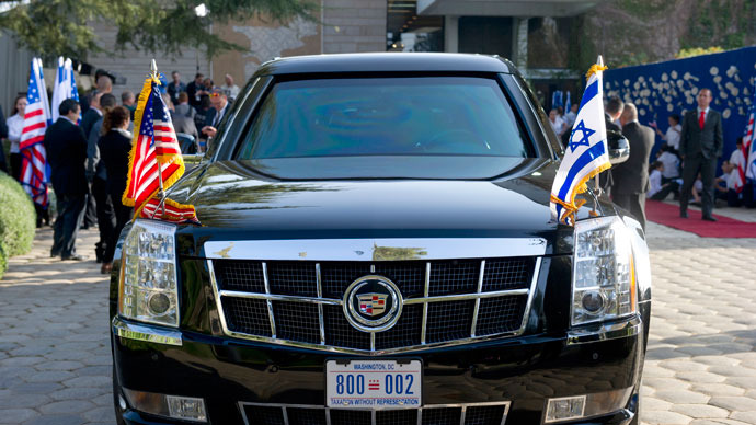 Obama's limo breaks down with 'wrong fuel' on visit to Israel