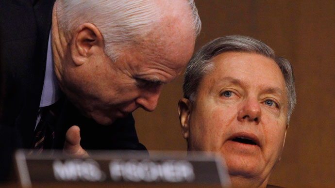 McCain and Graham push for US to invade Syria