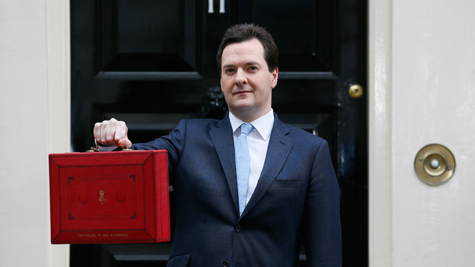 UK growth halved as budget 'for an aspiration nation' unveiled
