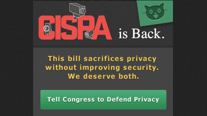 Firm firewall: Reddit, Craigslist head anti-CISPA online protest
