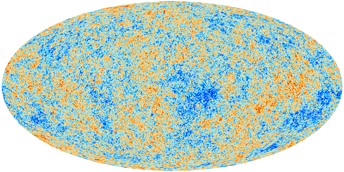 Most detailed map ever created of the cosmic microwave background –- the relic radiation from the Big Bang –- revealing the existence of features that challenge the foundations of our current understanding of the Universe (AFP Photo / ESA–Planck Collaboration)
