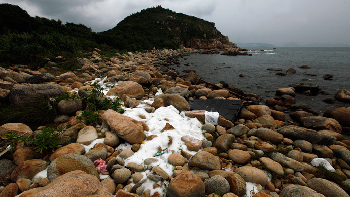 China's coastal waters pollution doubles in just one year
