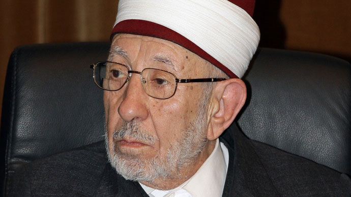 Senior cleric Dr Mohammed Saeed Ramadan al-Bouti (AFP Photo / Louai Bechara)
