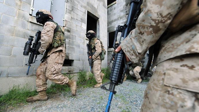 3 dead including shooter at Marine Base Quantico, VA