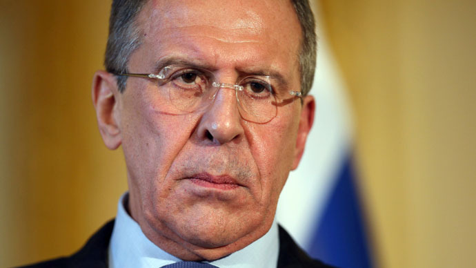 Russian Foreign Minister Sergei Lavrov.(AFP Photo / Oli Scarff)