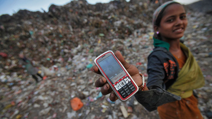 UN: More people have access to cellphones than toilets
