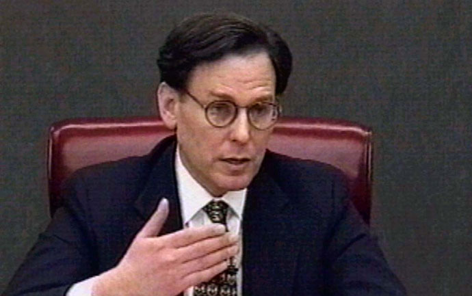 Former White House aide Sidney Blumenthal.(Reuters)