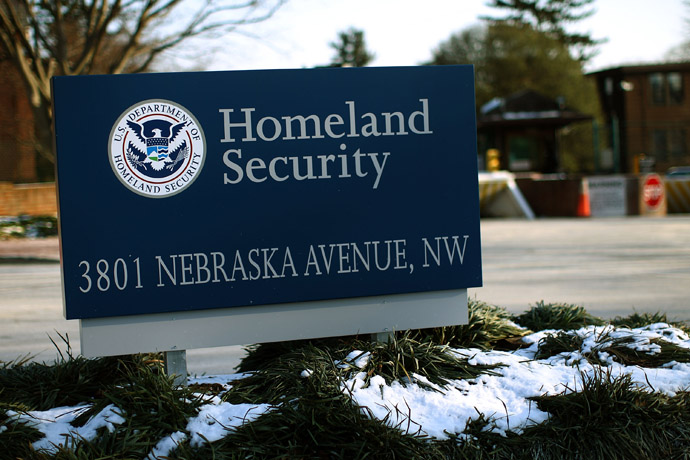 The Department of Homeland Security main complex (U.S. Win McNamee/Getty Images/AFP)