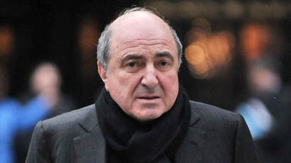 Berezovsky found with 'ligature' around neck - inquest