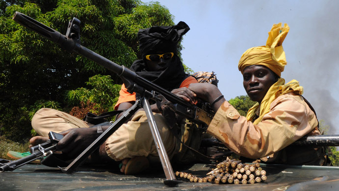 Central African Rep. rebels seize capital, announce president deposed