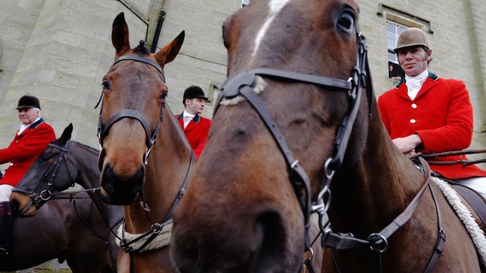 British beasts of burden: Obese UK riders put horses' health at risk