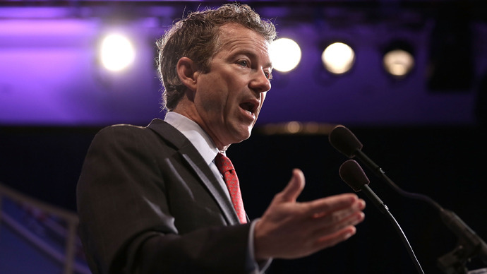 Rand Paul says weed smokers shouldn't be sent to prison